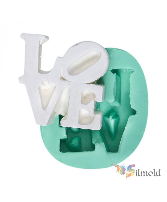 ''Love'' Silicone Mold
