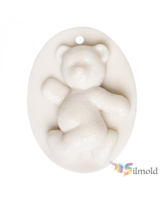 Teddy Bear (perforated) Paintable Resin Object