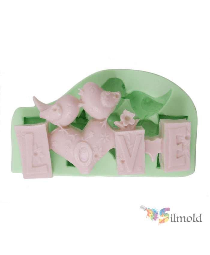 ''Love'' Trinket Silicone Mold