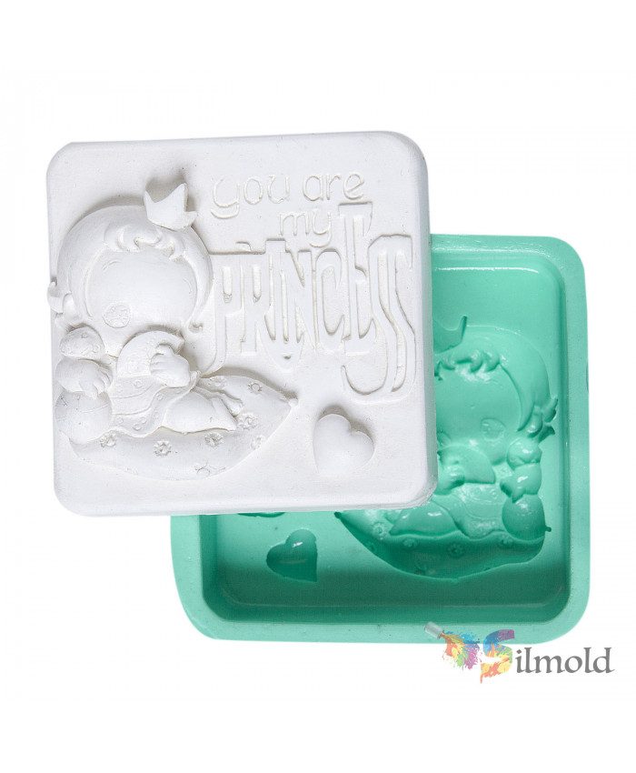 You Are My Princess'' Silicone Mold
