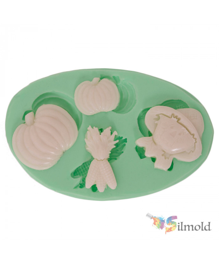 Agriculture-themed Little Objects Silicone Mold