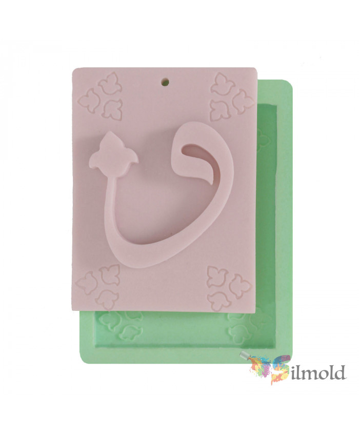 Arabic Letters -4 Silicone Mold