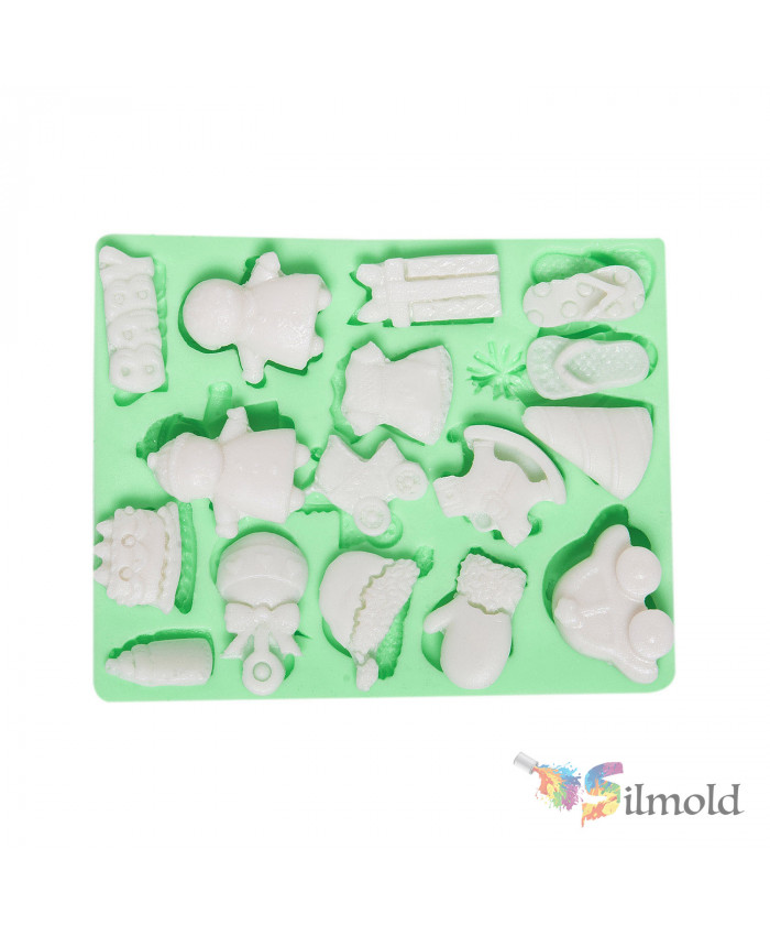 Babys Things (small) Silicone Mold