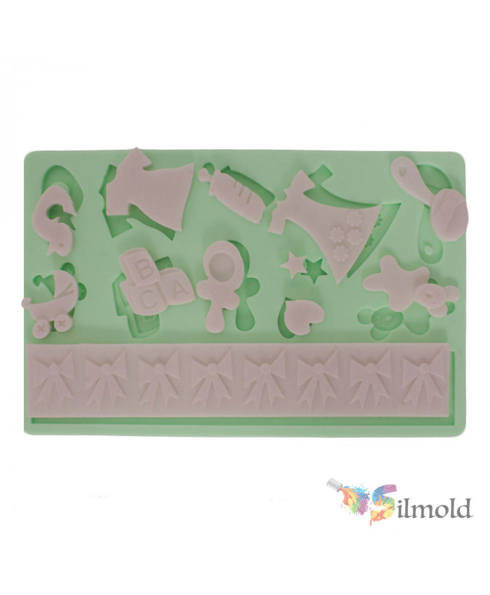 Babys Things Silicone Mold