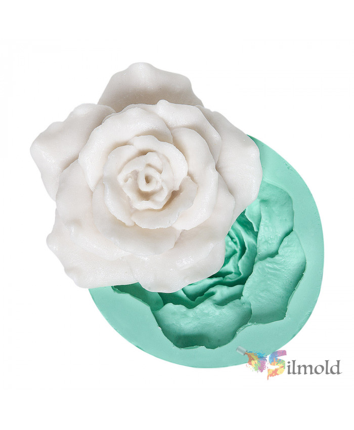 Big Rose Silicone Mold