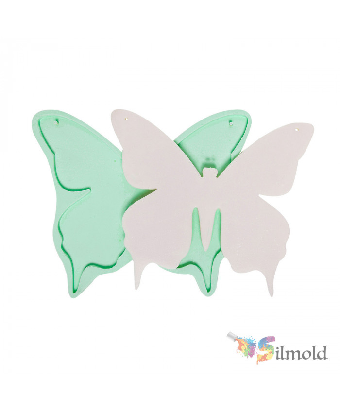Butterfly Wallboard (big) Silicone Mold