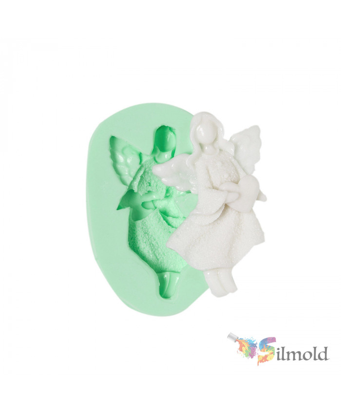 Christmas Angels-17 Silicone Mold