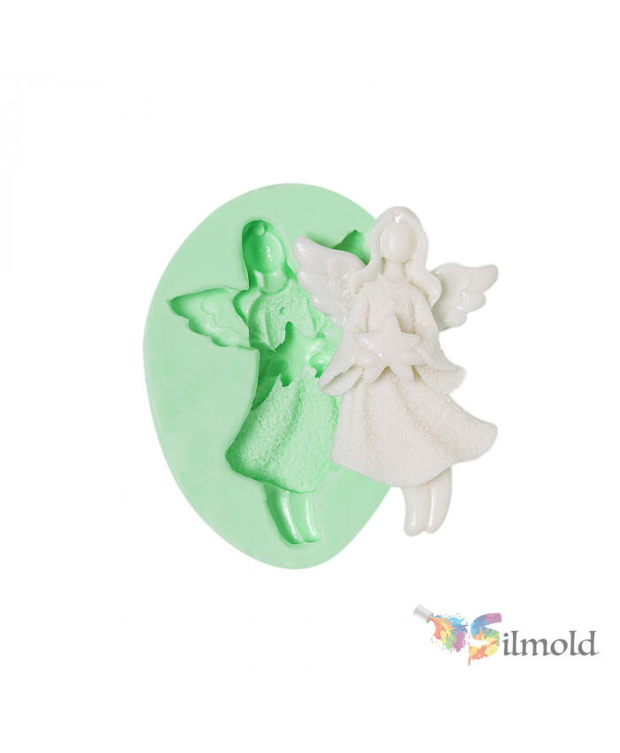 Christmas Angels-18 Silicone Mold