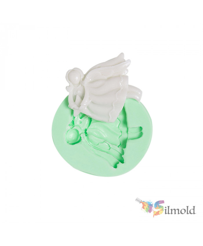 Christmas Angels-20 Silicone Mold