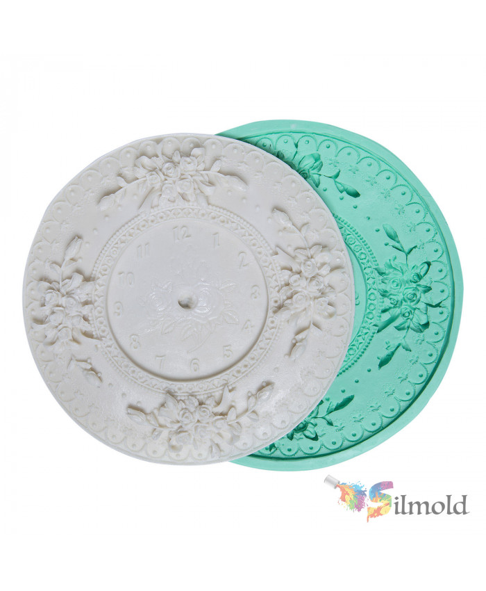 Classical Clock Silicone Mold