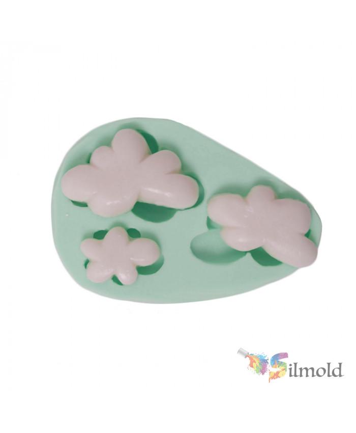 Clouds (trio) Silicone Mold