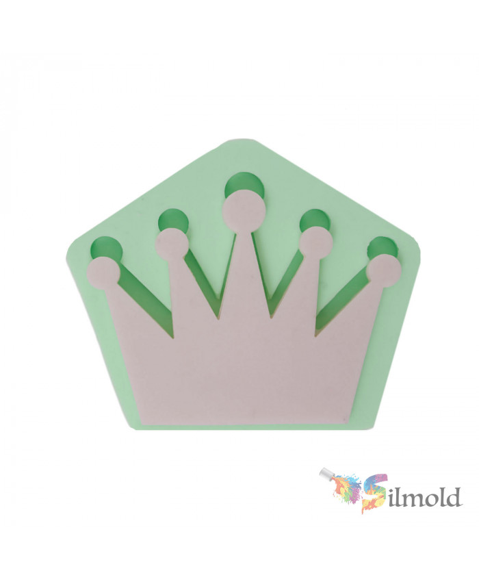 Crown (simple) Silicone Mold