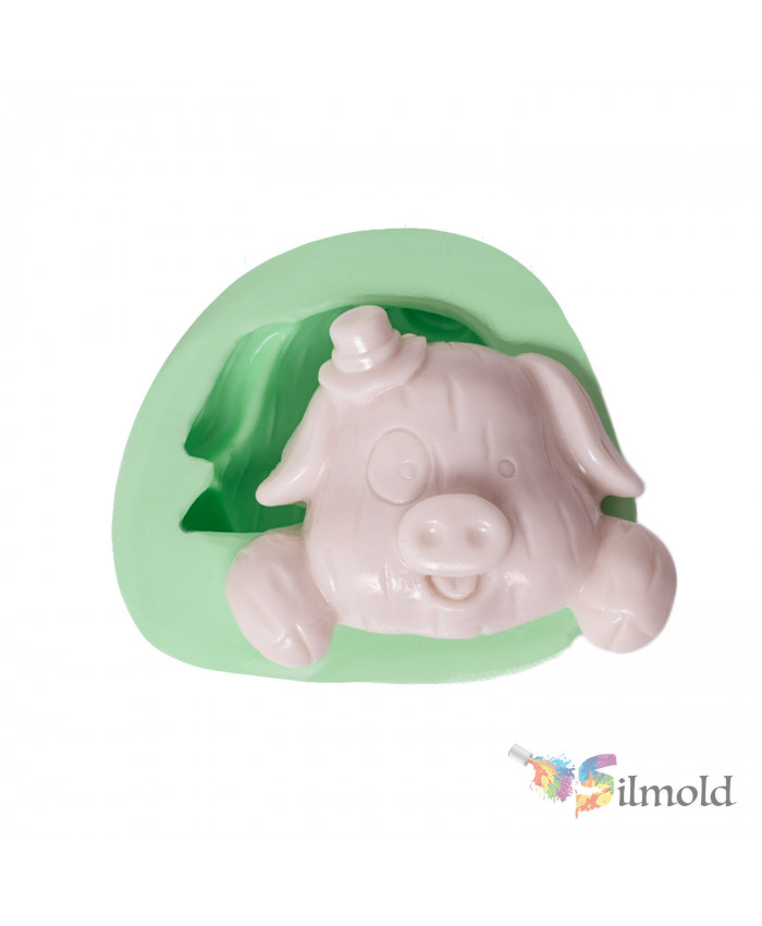 Cute Pig Silicone Mold
