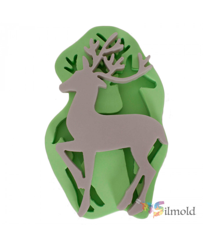 Deer (large-sized) Silicone Mold