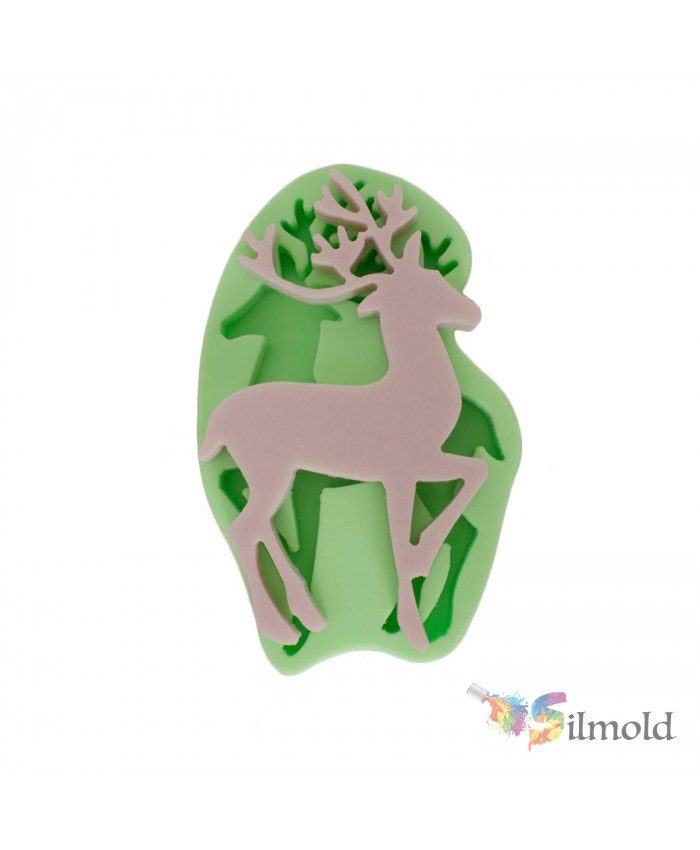 Deer (small) Silicone Mold