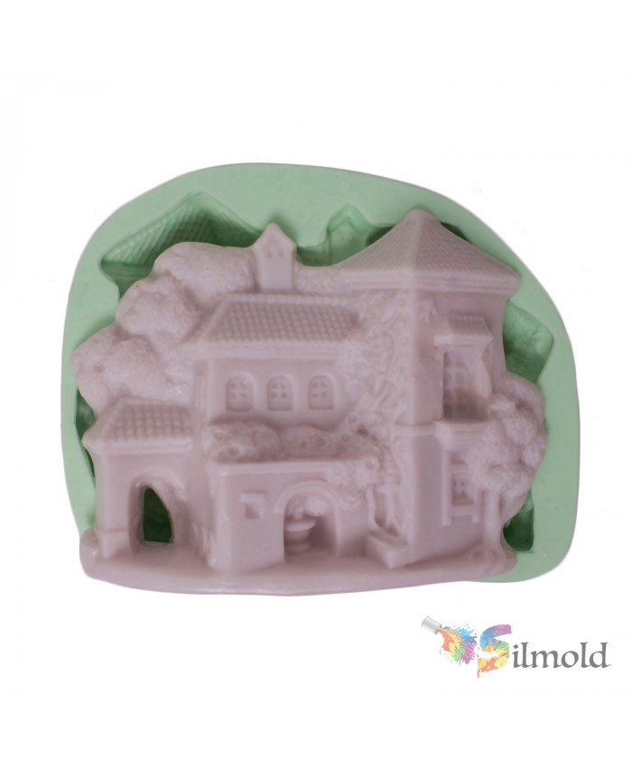 Detached House (big) Silicone Mold
