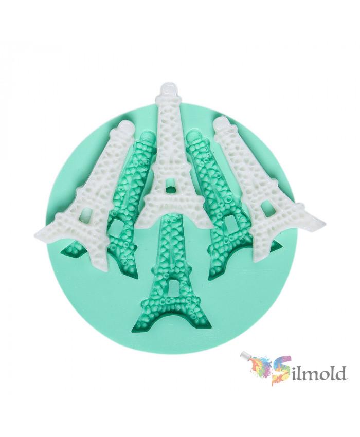 Eiffel Towers (trio) Silicone Mold