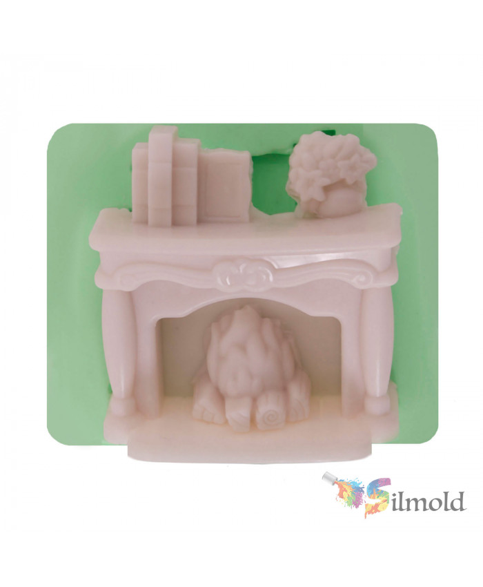 Fireplace Silicone Mold (2)