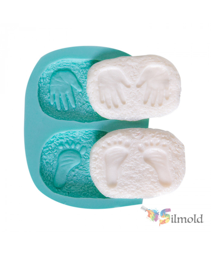 Hand-Footprint Silicone Mold