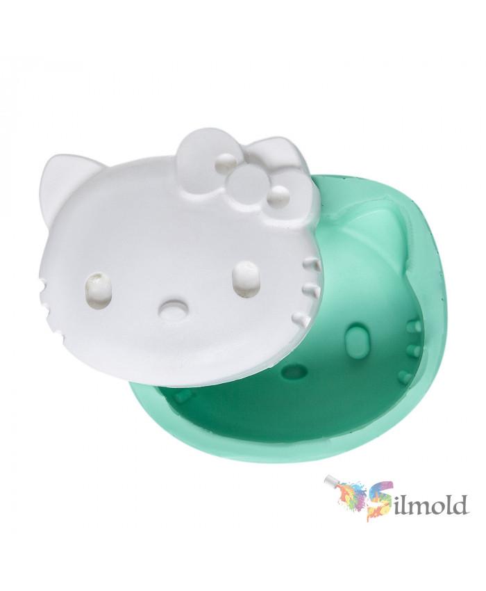 Hello Kitty Silicone Mold
