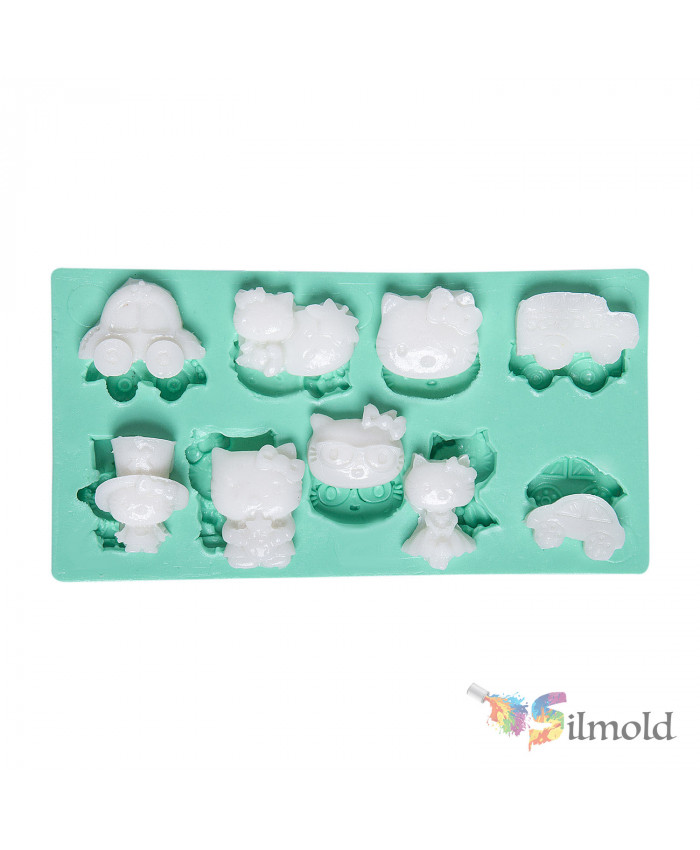 Hello Kitty-themed Silicone Mold