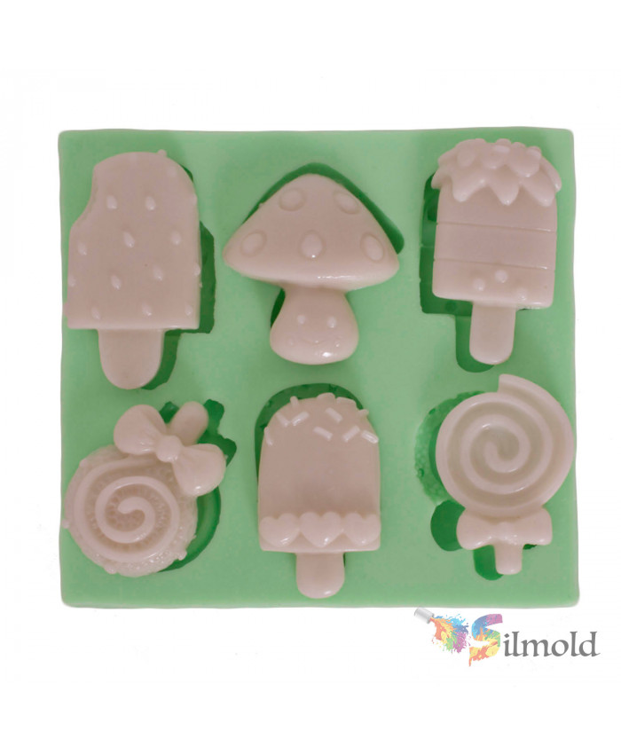 Icecreams Silicone Mold