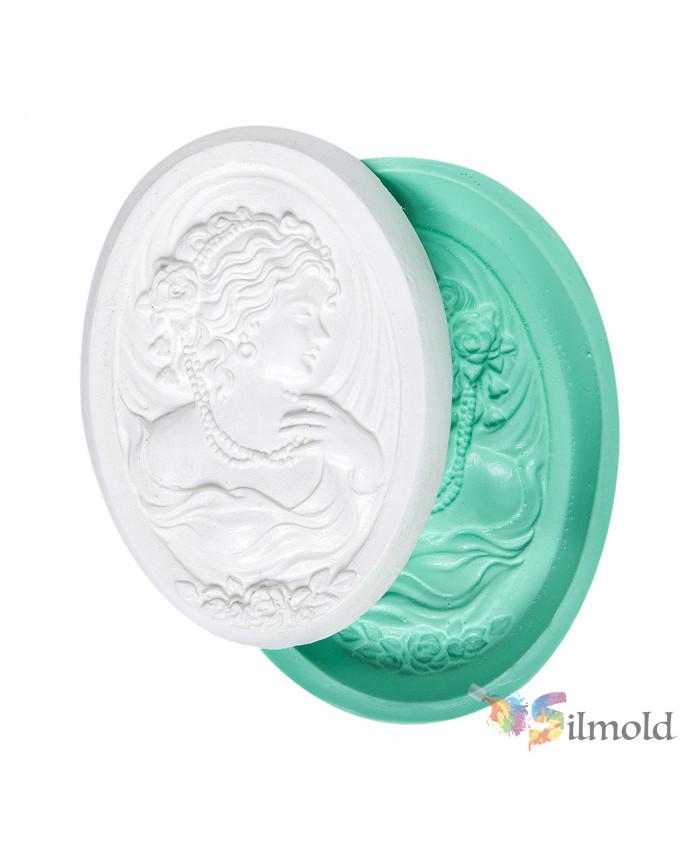 Lady Portre Silicone Mold