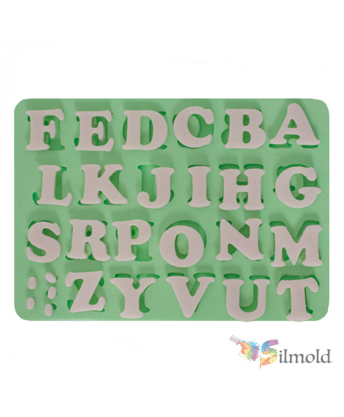 Letters (medium-sized) Silicone Mold