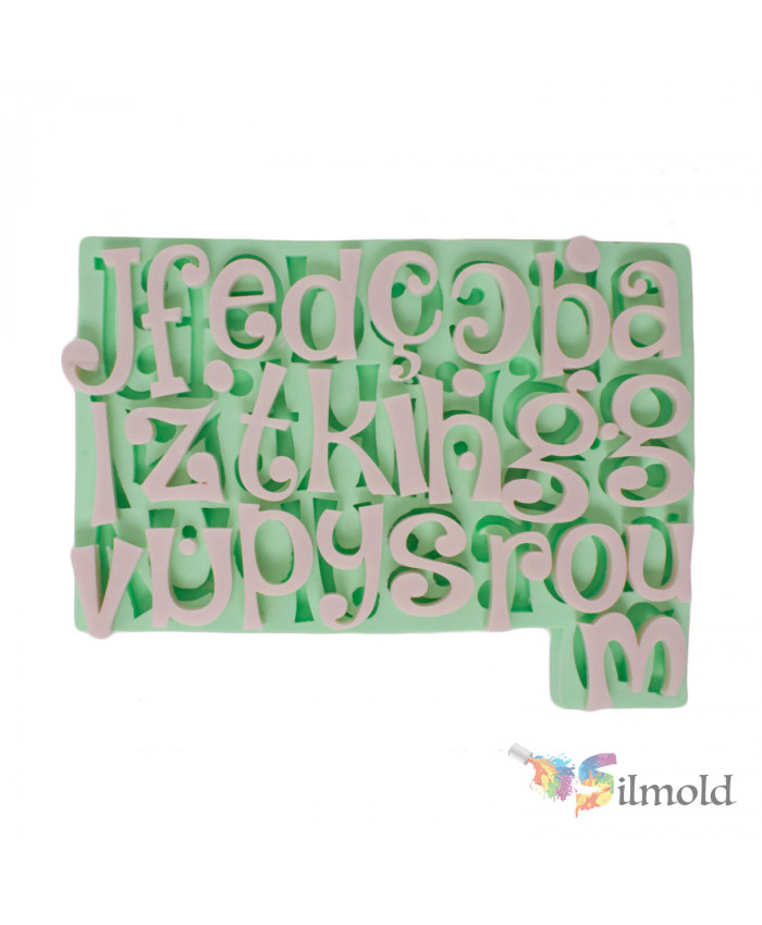 Letters (reverse) Silicone Mold