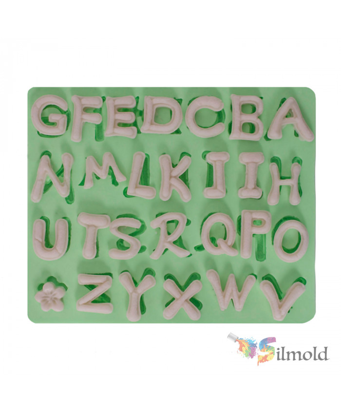 Letters Silicone Mold (3)