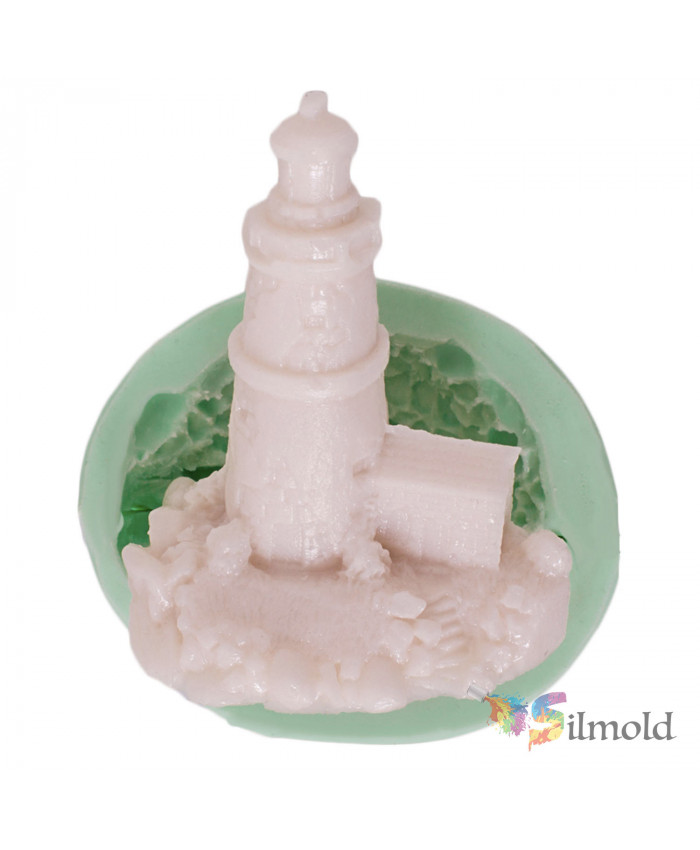 Lighthouse Silicone Mold