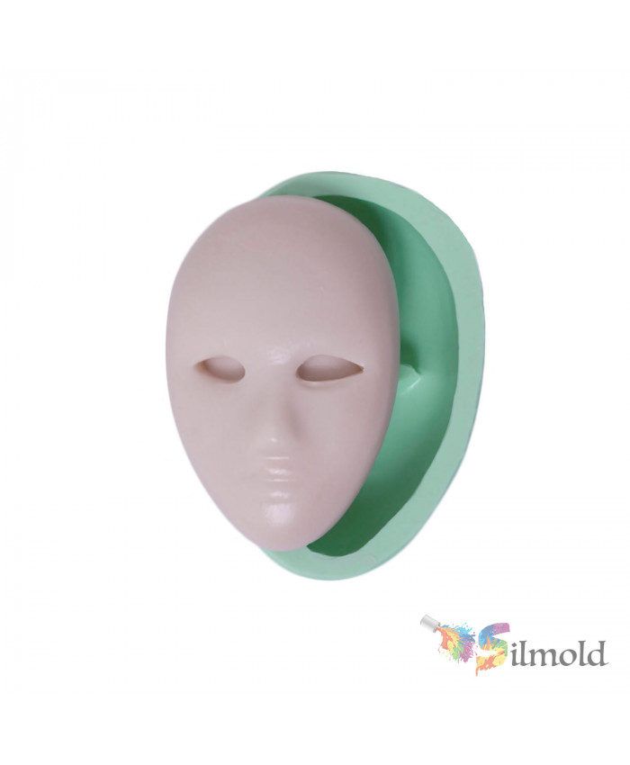 Mask (simple) Silicone Mold