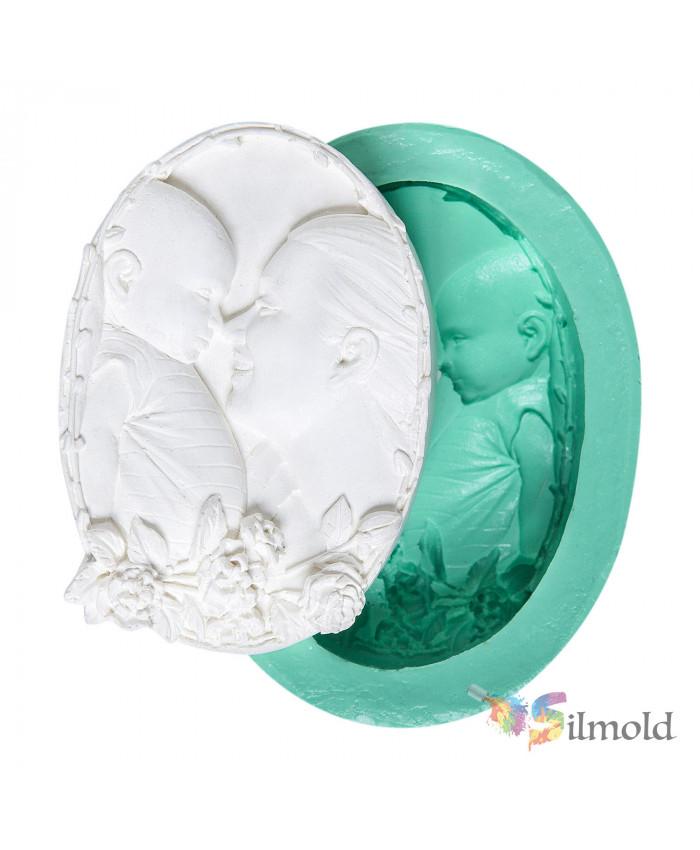 Mom-Child Silicone Mold