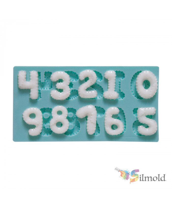Patchy Digits Silicone Mold
