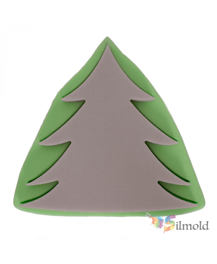 Pine Tree (large-sized) Silicone Mold