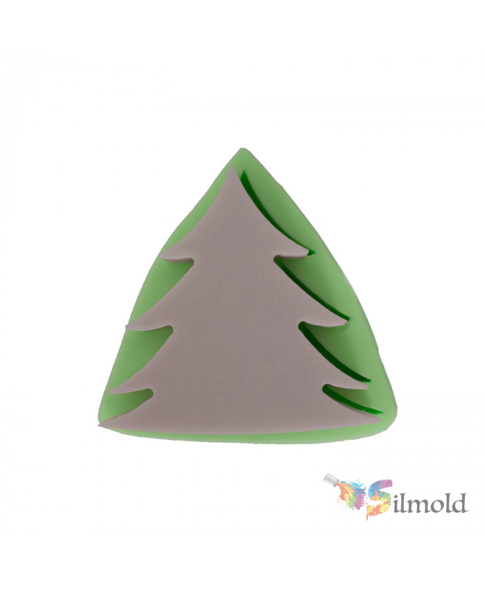 Pine Tree (small) Silicone Mold