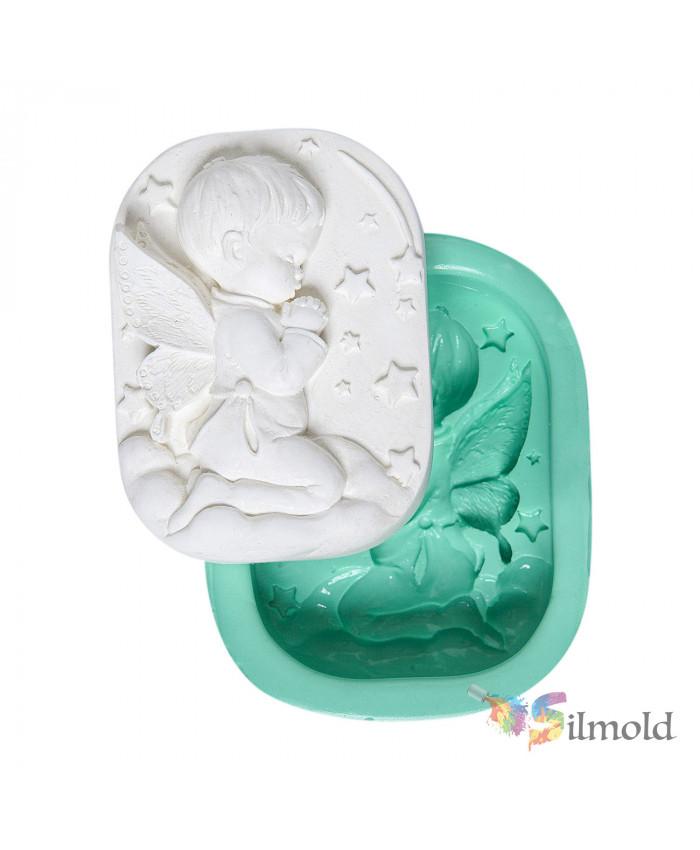 Praying Boy Silicone Mold