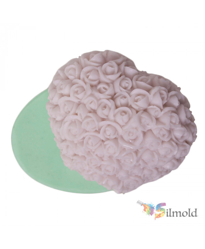 Rosy Heart Silicone Mold (2)
