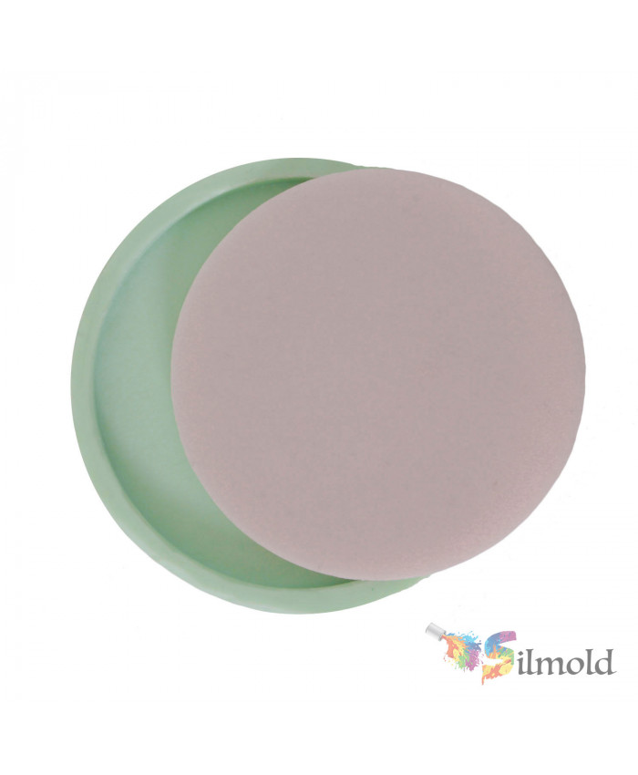 Round Blank Frame Silicone Mold (2)