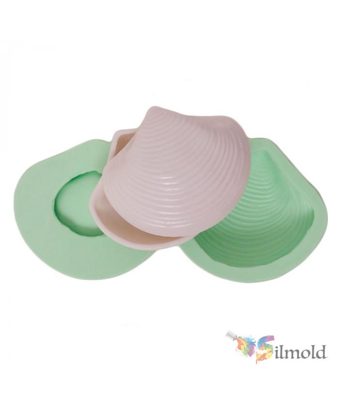 Seashell Box Silicone Mold