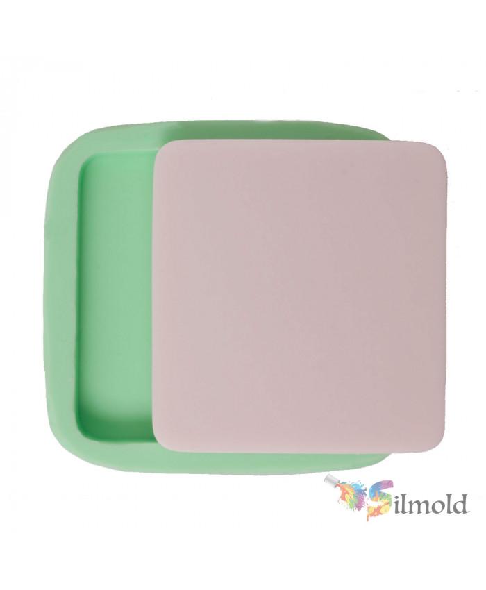 Square Blank Plaque Silicone Mold