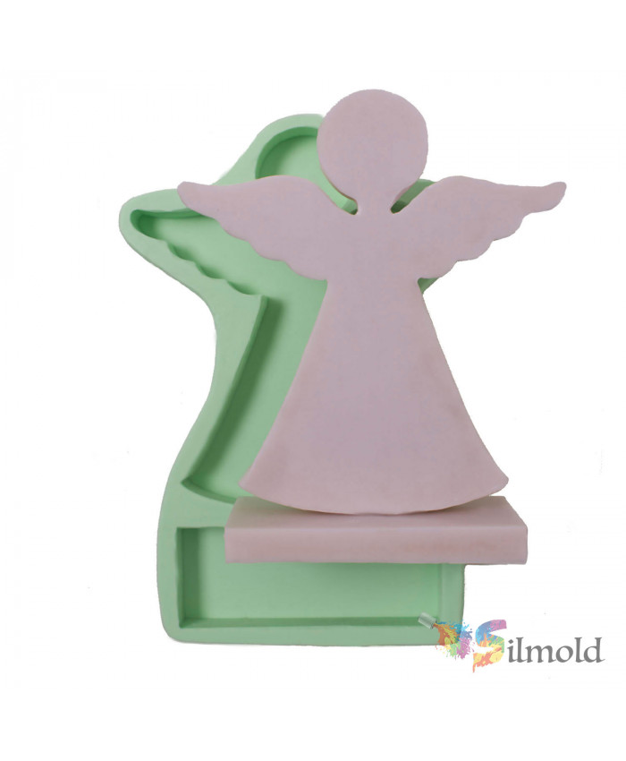 Standing Angel (large-sized) Silicone Mold