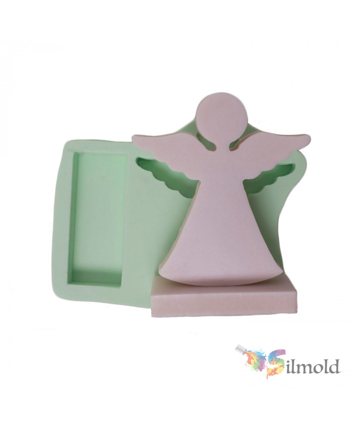 Standing Angel (medium-sized) Silicone Mold
