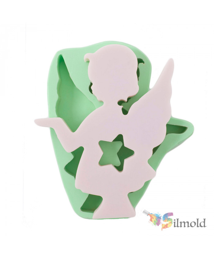 Standing Starry Girl Silicone Mold