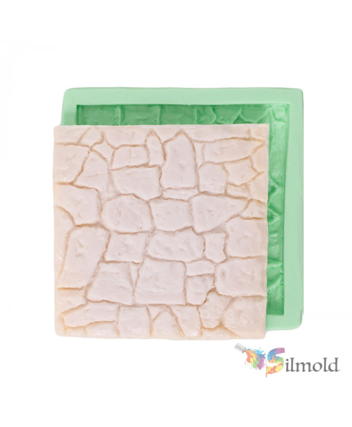 Wall Stone (small) Silicone Mold