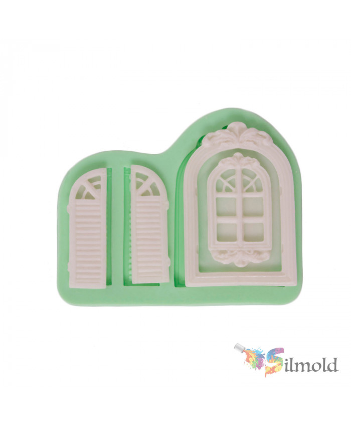 Windows and Windows Shades Silicone Mold